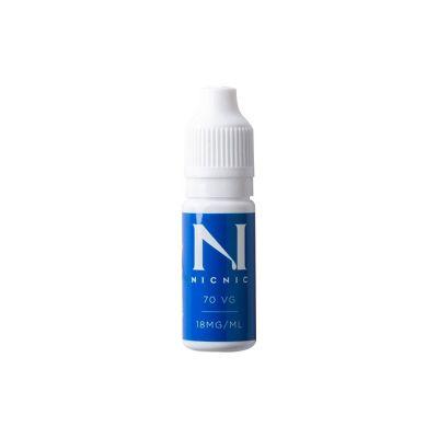 Nic Nic 70/30 VG/PG Nicotine Shot